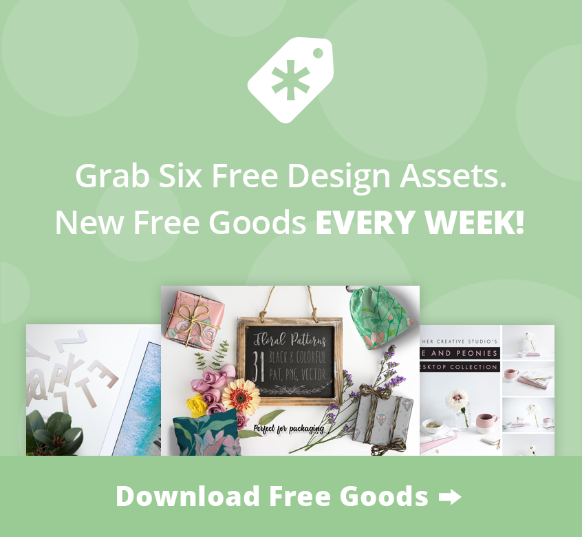 CreativeMarket - Get Free Goods