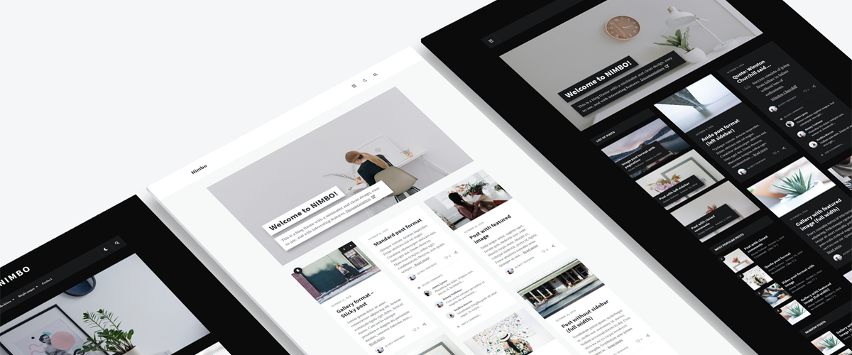 Nimbo - Personal WordPress Blog Theme